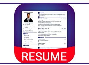 Photo of Resume Builder Apk   Design The Professional  CV To Help You Get A Good Job  
