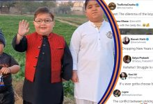Photo of 'Peeche Dekho Peeche Kid' Wishing Fans New Year, But Look Who Stole The Show