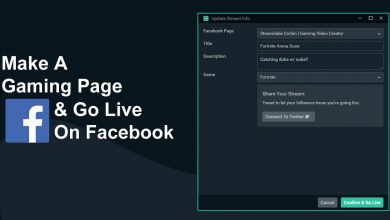 Photo of Build A Gaming Page On Facebook And Go Live Today | How To Stream On Facebook Gaming |