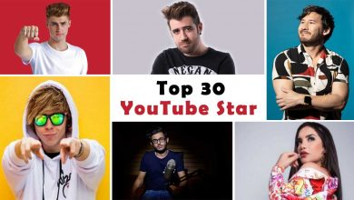 Photo of From Pewdiepie To Ryan Kaji, These Are The Top 30 Most Famous Youtube Stars On The World