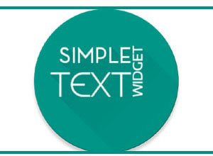 Photo of Simple Text Widget Apk   Custom Text Widget For Simple Text, Notes & Messages On Home Screen  