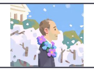 Photo of Google Recognizes Frank Kameny, The American Gay Rights Activist.